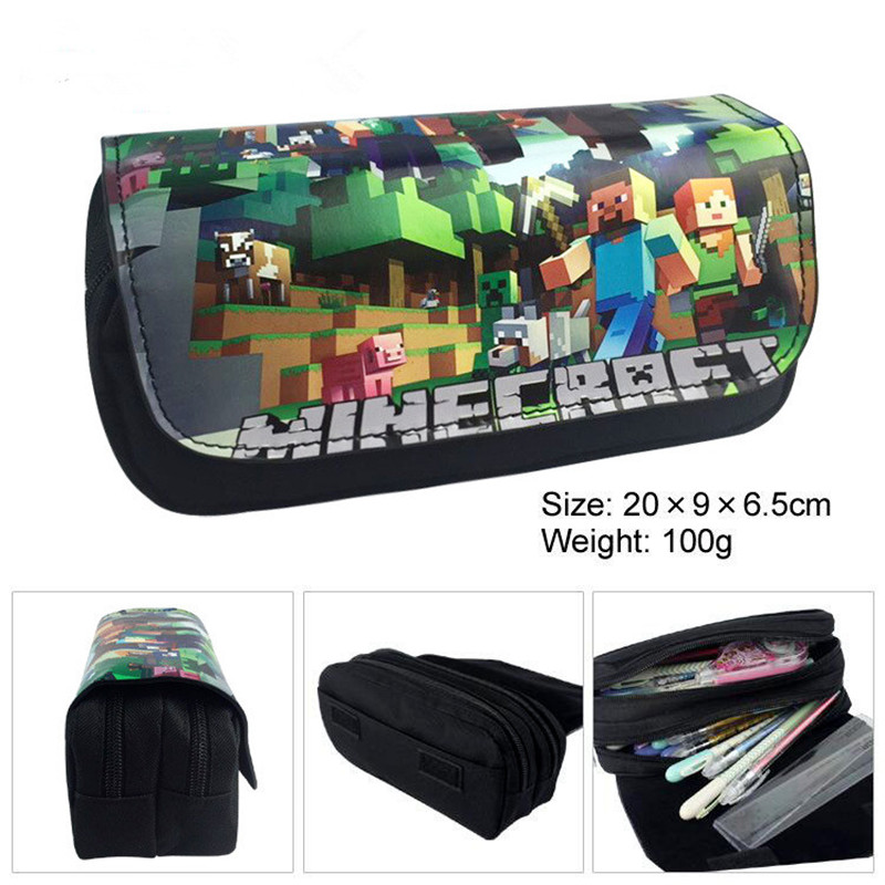 Make Up Bag Classic Game Travel Toiletry Organizer Box Fashion Cosmetic Pouch School Supplies Makeup Nail Polish