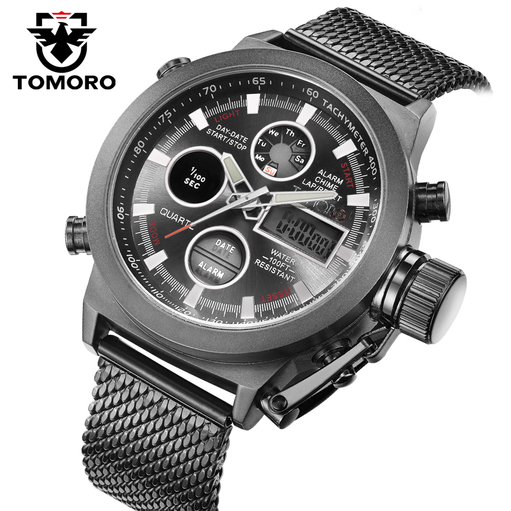 online buy whole big watches men from big watches men 2017 new brand fashion men led sports watches men s quartz clock man milanese strap military army