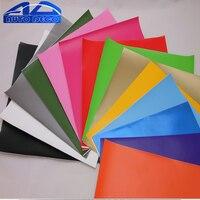 1.52*3/5/10/15 m Retail Matte Vinyl Film Sticker Vinyl Auto Wrap Roll Matt zwart Rood 16 Kleuren Optie FedEx Snelste Gratis Verzending