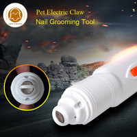 Professional Nail Grinder Dog Cat Electric Claw Nail Grooming Tool Pet Toenail Paws Grinder Clipper Dog