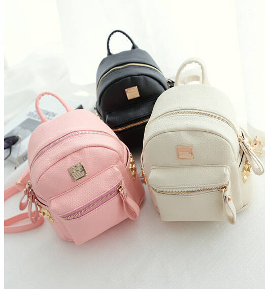 Aliexpress.com : Buy Mini Backpacks Women Candy Colors Fashion ...