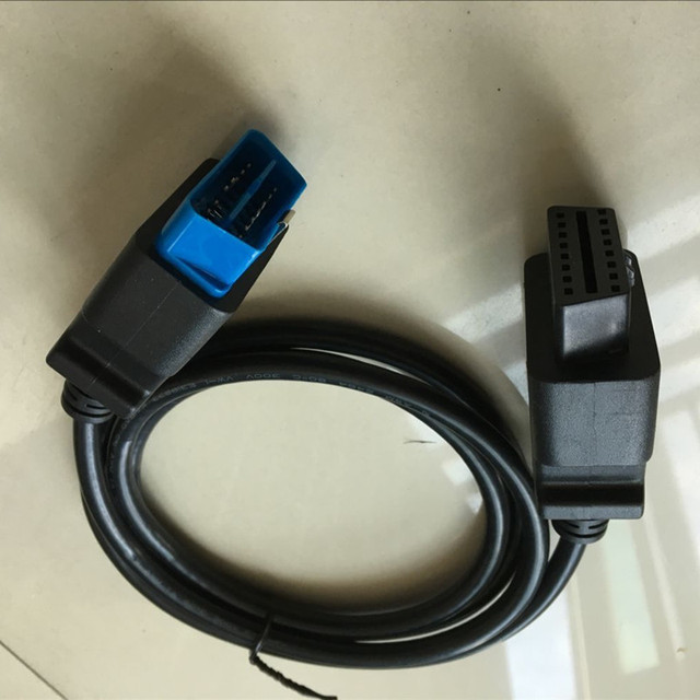 16pin obd2 connector 16 pin extension cable obd2 16pin extension cable 1.2m OBDII  Auto Diagnostic Cable Connector Adapter
