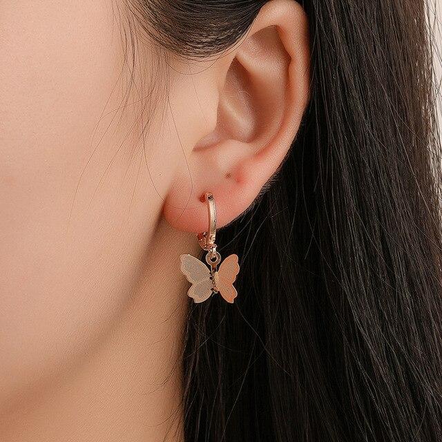 Butterfly Drop Earrings 2