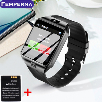Femperna Passometer Smart Watch DZ09 Bluetooth Camera DZ 09 Sync Phone Call SMS Smartwatch DZ09 Battery Men Watch Android IOS умные часы smart watch y1
