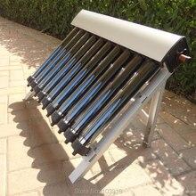 1 комплект солнечного коллектора солнечного нагревателя горячей воды, 10 эвакуированных труб, тепловые трубы вакуумные трубки, новые