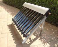 1 комплект солнечного коллектора солнечного водонагревателя, 10 эвакуированных трубок, тепловые трубы вакуумные трубки, новые