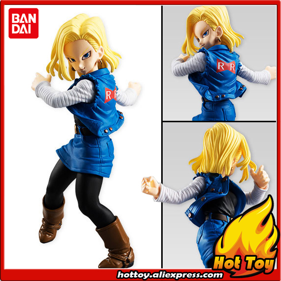 100% Original BANDAI Tamashii Nations STYLING Vol.5 PVC Toy Figure - Android #18 from Dragon Ball Z dmz vol 12 five nations ny