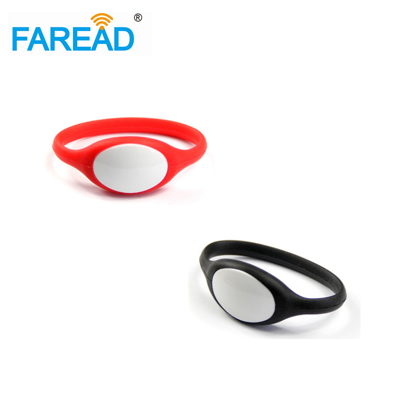 X100pcs Free Shipping 125khz T5577  RFID Wristband  For Wimming Pool, Cooling Store