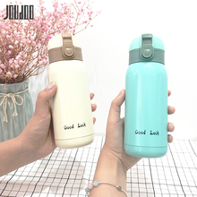 цены JOUDOO 360ML Mini Stainless Steel Vacuum Flasks Fashion Solid Thermos Water Bottle Outdoor Sport Travel Student Thermoses 35