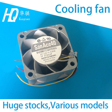 Cooling fan for NXT Fuji chip mounter Sanyo Original SanAce40 9GE0412P3J03 12V 0.65A 4CM XH01431 XH01432 XH01430 SMT spare parts цены