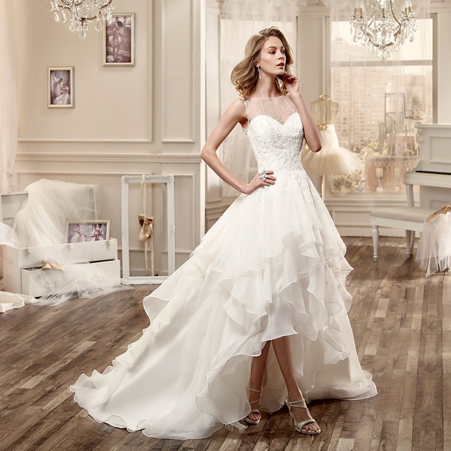 High Quality Sexy Low Cut Wedding Dressesbuy Cheap With V Dresses