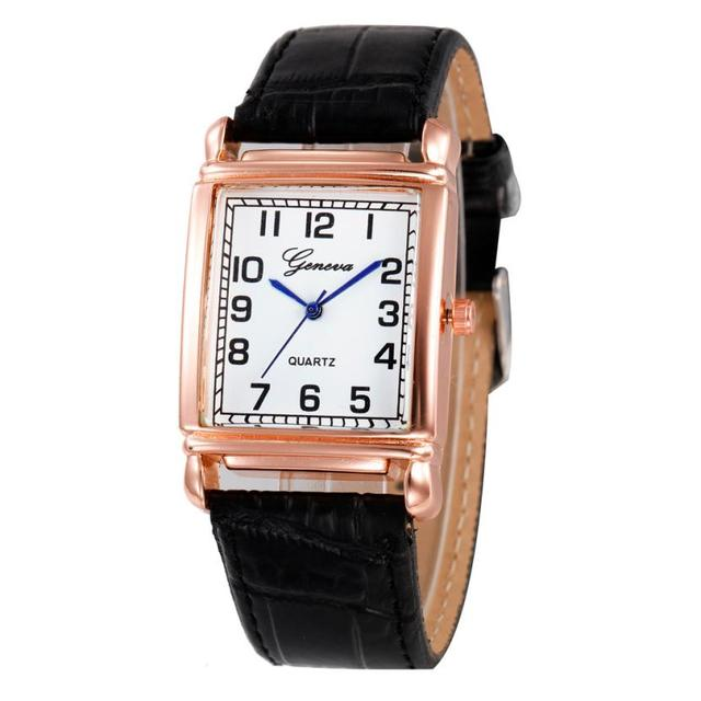 Ladies Personalized Women Watch New Checkers Leather Design  Watches Multi Colors Casual Bracelet Watch Women  #D