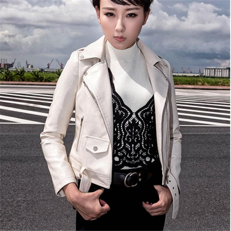 Bomber Streetwear Haute Veste Pu La Style Qualité Mode Dames Court Plus Coréenne Taille 2018 Femmes Minceur Manteau 4xl qS8wxwIv