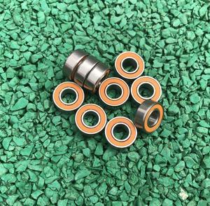 10 шт или 50 шт S688-2RS ABEC7 из нержавеющей стали гибридные si3n4 керамические шарикоподшипники S688 2RS CB 8x16x5 мм рыболовная Катушка Подшипник