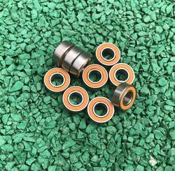 10 sztuk S688-2RS ABEC7 ze stali nierdzewnej hybrydowe si3n4 ceramiczne łożyska kulkowe S688 2RS CB 8x16x5mm kołowrotek łożyska