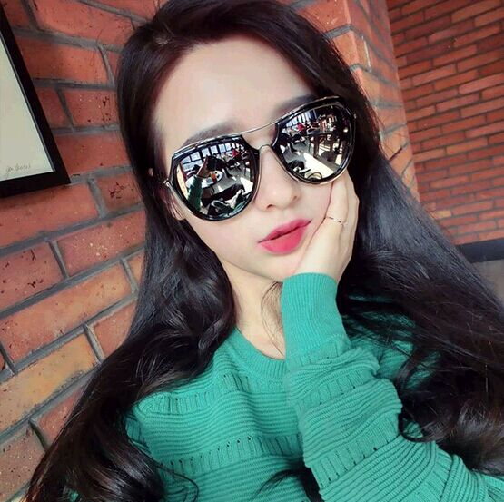 a422ad12d53b 2016 New Arrival Brand Silver Coating Sunglasses Pink Glod Fashion Sun  Glass Women Men Oculos Gafas De Sol High Quality