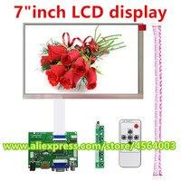 7 inch matrix tv for Raspberry Pi LCD display PC monitor HDMI AT070TN83 V.1 Controller driver board Audio VGA 2AV Module kit