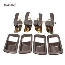 ISANCE poignée de porte intérieure brune, 8 pièces, ensemble avant/arrière gauche/droite, pour Toyota Camry 1992, 1993, 1994, 1995, 1996, 6920532070