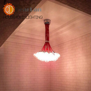 Modern 1/6/10/19 Lights Bubble Chandelier Pendant Lamp For Decoration Sitting Room Bedroom Restaurant,Excluded Bulbs(KT-10)