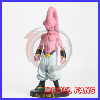 MODEL FANS IN-STOCK Dragon Ball Z 21cm small evil Majin Buu A gk resin action figure toy for Collection