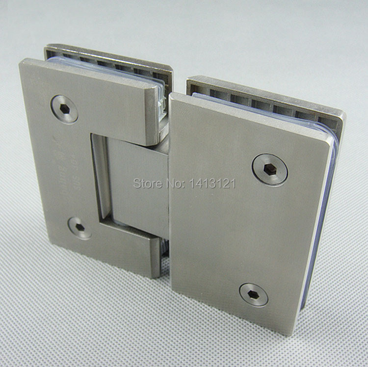 Free Shipping Stainless Steel Glass Door Hinge Bathroom