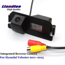 Liandlee Car Rearview Reverse Camera For Hyundai Veloster 2011~2015 Rear View Backup Parking Camera / SONY CCD HD Integrated liandlee car rear reverse camera for hyundai elantra md ud 2011 2015 backup parking rear view camera integrated high quality