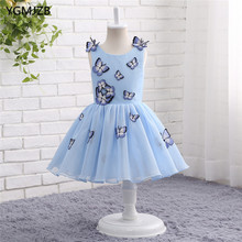 9413eafda0 Girls Wedding Blue Dress Promotion-Shop for Promotional Girls ...