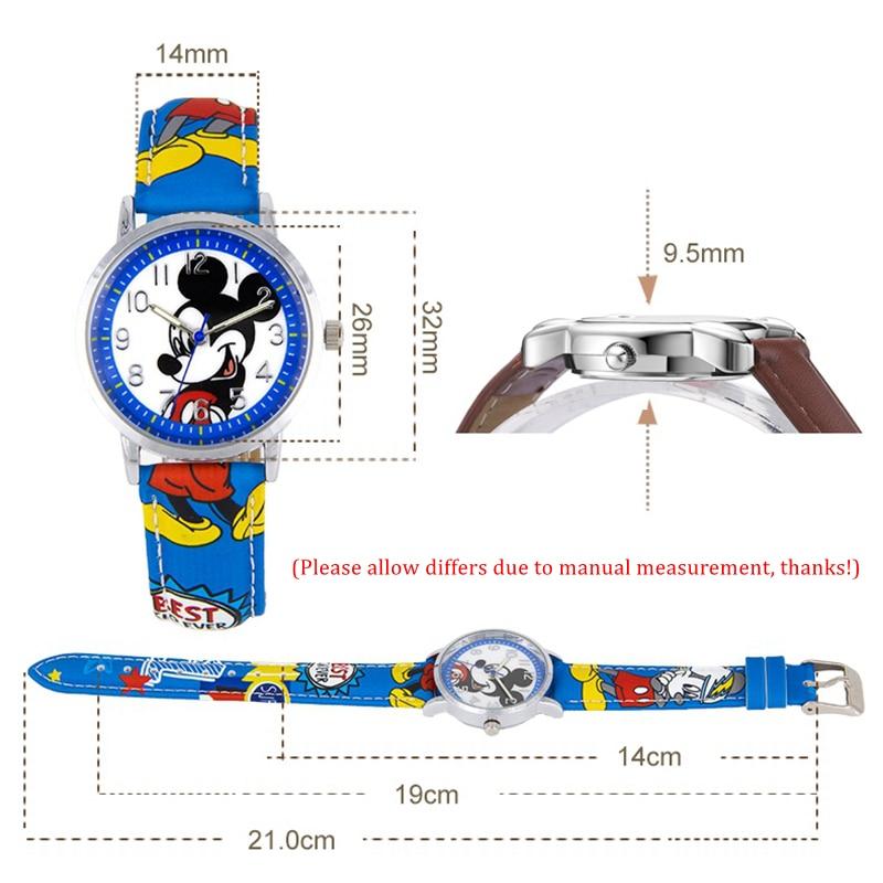Mickey Minnie mouse kinderen mooi waterbestendig horloge Jongens - Kinderhorloges - Foto 5