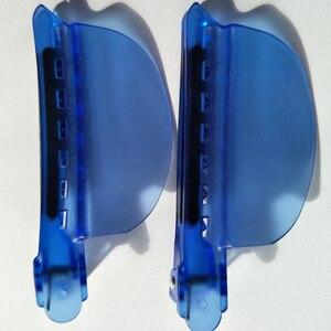 Image 2 - Pinzas separadoras de fácil velocidad, Color azul, 10 unids/lote, extensión de cabello, envío gratis, venta al por mayor