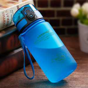 Image 3 - UZSPACE 350ml Spor Su Şişesi Çocuk Güzel Çevre Dostu Plastik Sızdırmaz Yüksek Kaliteli Tur Taşınabilir benim içme şişesi BPA Ücretsiz