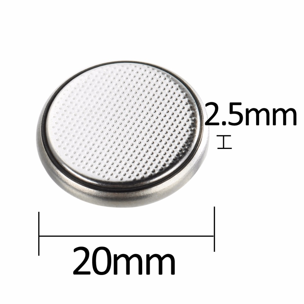 100pc CR2025 Lithium Button Cell Battery 2