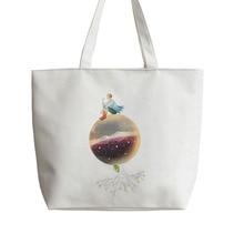 The Little Prince Moon Stars Anime Canvas Tote bags Cartoon Shopping bag school Shoulder Reusable Shopper Grocery Bag GA416