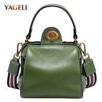 Genuine leather women's shoulder bags fashion cow leather lady handbags 2018 luxury handbags women bags designer crossbody bags