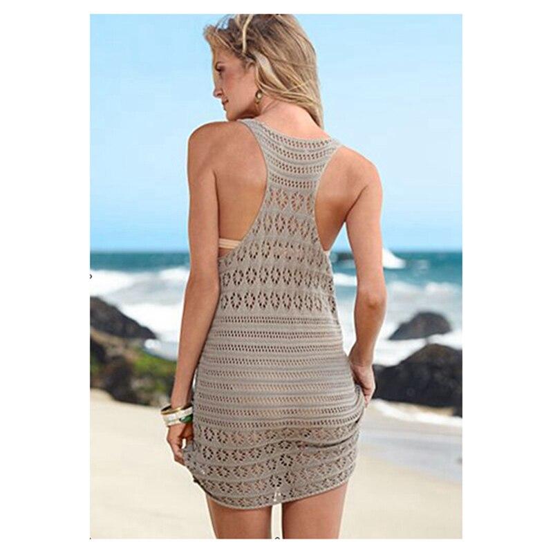 100% puuvillane seksikas naiste heegeldama Racerback kleit - Spordiriided ja aksessuaarid - Foto 2