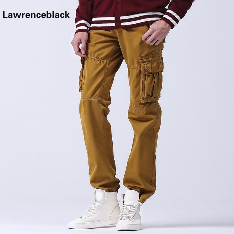 Konstruktiv Männer Cargohose 100% Baumwolle Slack Gerade Lange Hose 2017 Marke Männlichen Freien Hosen Mehrfach Beiläufige Pantalon Homme 115 Um Jeden Preis