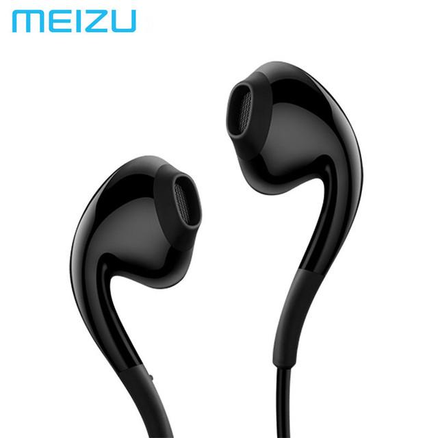 Nueva original meizu ep2x sonido estéreo de alta fidelidad del auricular con el mic para teléfonos meizu pro 6 6 s pro5 auriculares envío rápido