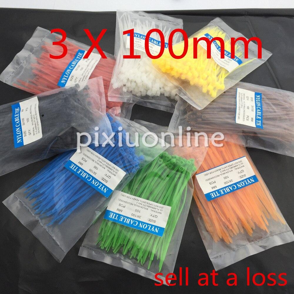 Кабельная стяжка 100 ./. DS110B 3*100