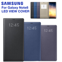 SAMSUNG Original LED View Cover Smart Cover Phone Case for Samsung Galaxy Note 8 N9500 Note8 N950F SM N950F Original Phone Cover