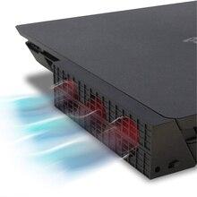 Игровые аксессуары вентилятор охлаждения для PS4 Slim консоли кулер смарт-термостат 3 поклонников Системы станции для sony Playstation 4 Slim