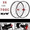 2018 High Quality HOT Sale Front 2 Rear 5 Bearing V Brake Road Bike 700C Wheel