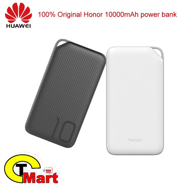 100% original huawei honor 10000 banco de potência mah ap08q usb tipo c e micro usb rápido rápido de carga portátil de energia externa fornecer