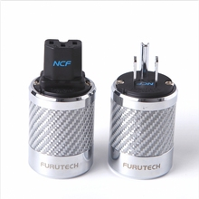hifi Furutech FI 50M / FI 50 NCF Nano Crystal power rhodium plating supply plug grade high end box 15A 125V /10A 250V AC