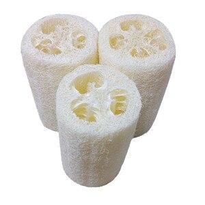 New Household Merchandises Natural Loofah Bath Body Shower Sponge Scrubber Pad Hot sale(China)