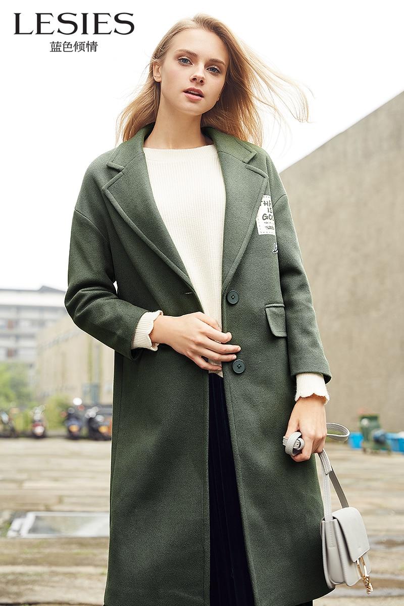 Online Get Cheap Green Wool Coats Women -Aliexpress.com | Alibaba ...