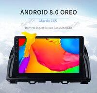 10.2 IPS screen Android 8.0 Car Multimedia player For Mazda CX5 CX 5 2013 2014 2015 Car Radio GPS Octa Core 4Gb Ram 32Gb Rom