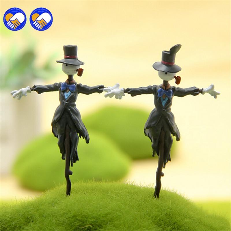 En leksak En dröm Studio Ghibli Howls rörliga slott Kakashi Kabu PVC Action Figur DIY Miyazaki Anime figurer Leksaker Modell Barn
