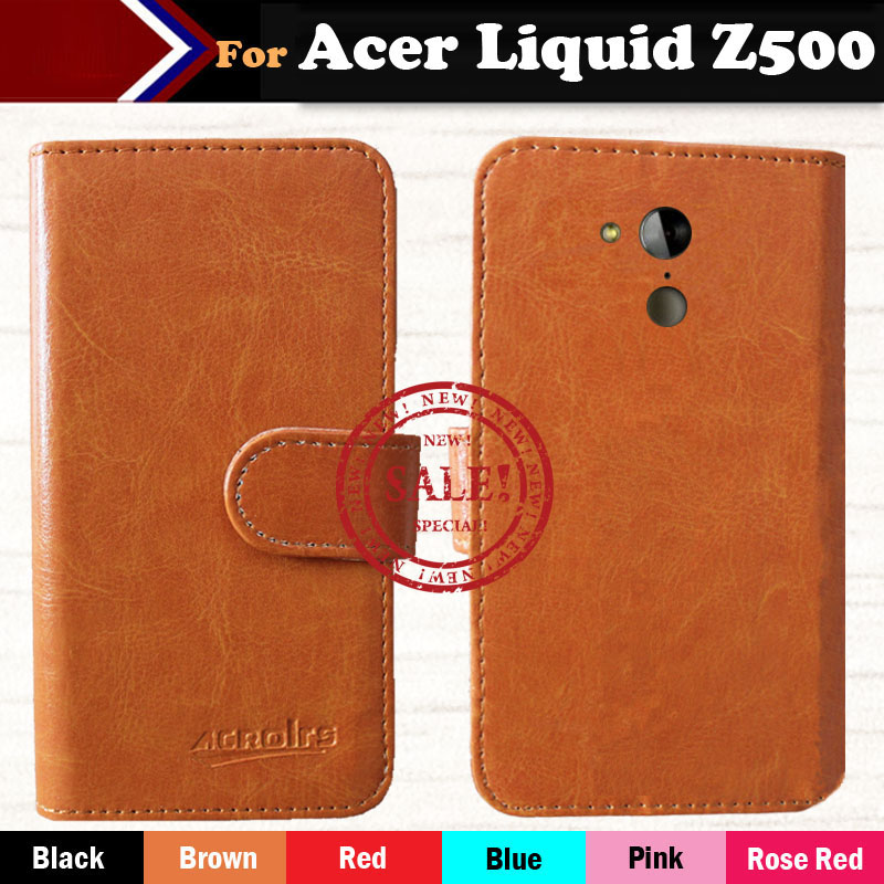 2014 Cases Acer Liquid Z500 6 Colors Multi-Function Flip Leather Smartphone Cover Slip-resistant Case - ShenZhen OYO Technology Co., Ltd. store