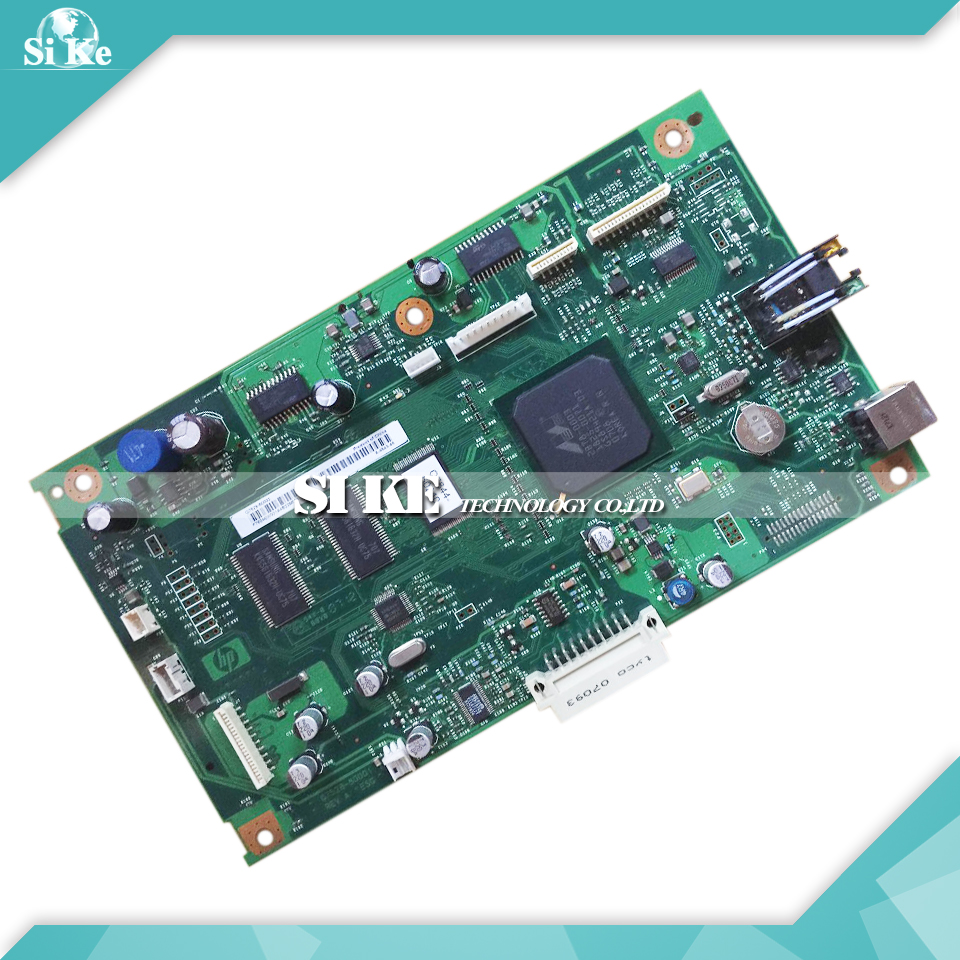 ФОТО Laser Printer Main Board For HP 3055 3055N Q7529-60002 HP3055 HP3055N Formatter Board Mainboard Logic Board