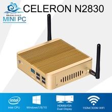 Customizable font b Mini b font font b PC b font Computer Intel Celeron N2830 Dual