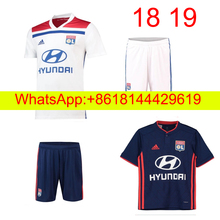 f68e48f49ae 18 19 adult Olympique Lyonnais soccer Jersey ABILY LACAZETTE GHEZZAL  MEMPHIS VALBUENA FEKIR 2018 19 Lyon football shirts